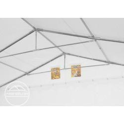 Photo of Lagerzelt 6×6 m – 2,6 m Seitenhöhe, Pvc 550 g/m², mit Bodenrahmen Unterstand, Lager Toolport