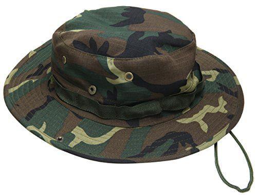 5c82ae5a065 Jemis Men s Boonie Hat Bucket Hat (Brown camo)