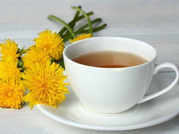 Dandelion Flower Tea Recipe In 2020 Dandelion Tea Herbal Tea Benefits Dandelion Benefits
