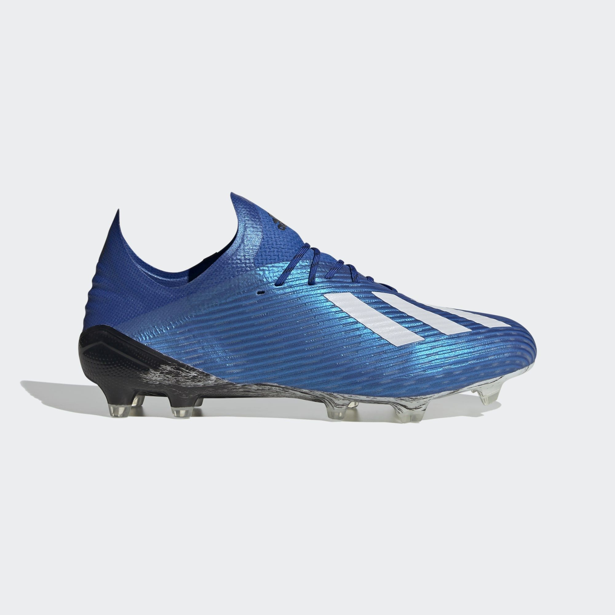 Adidas X 19 1 Mutator Firm Ground Boots Team Royal Blue Cloud White Core Black Adidasfootball In 2020 Football Boots Mens Football Boots Blue Adidas
