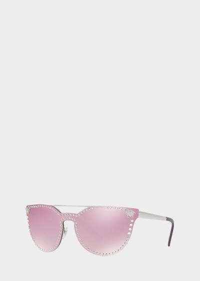 Sunglasses Eyes For VersaceFour Stud Pink Mirror qSGpLUVzM