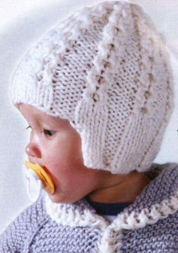 Схема вязания шапки детской