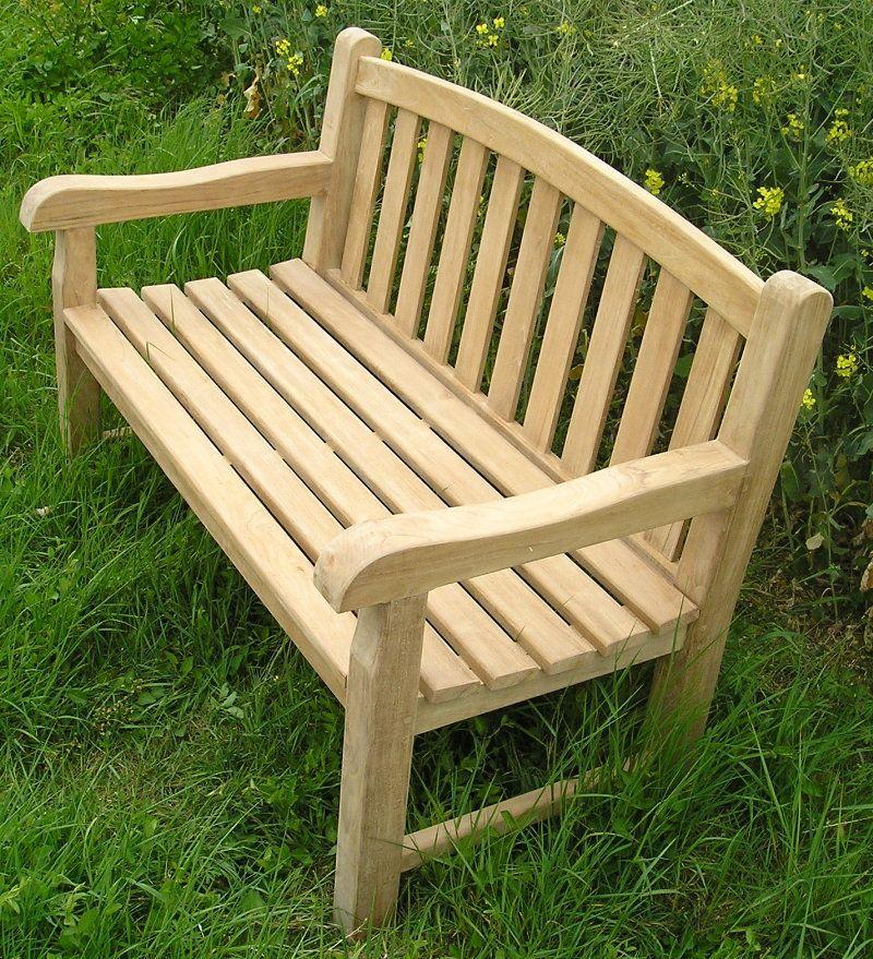 Aldeburgh 4ft Teak Bench Wooden Garden Benches Teak Garden Bench Garden Bench Seating