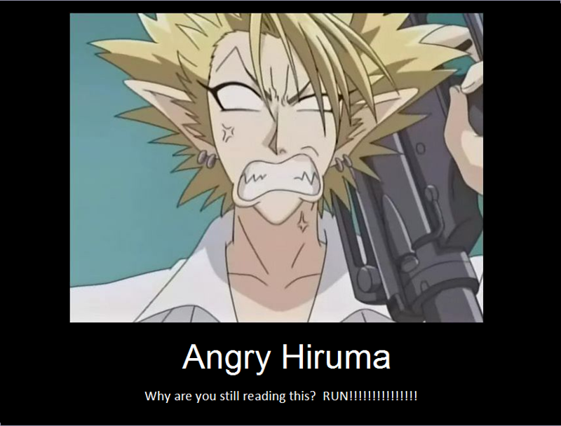 Angry Hiruma By Archsage328
