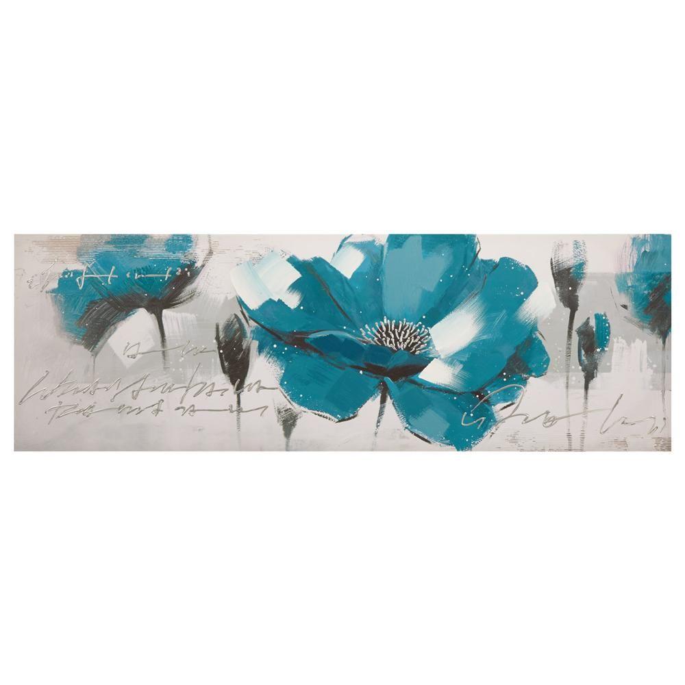 tableau peinture l 39 huile de fleurs tableaux d cor mural appart pinterest. Black Bedroom Furniture Sets. Home Design Ideas
