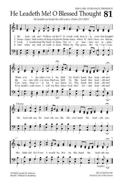 Triple the Scraps: {HSCRC13} Hymn #15, He Leadeth Me | Prints ...