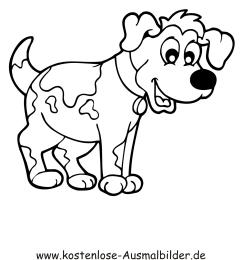 Ausmalbild Hund Ausmalbilder Hunde Ausmalen Hunde
