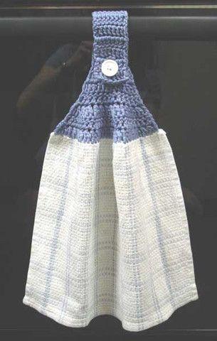 Maggies Crochet Basic Towel Topper Free Crochet Pattern