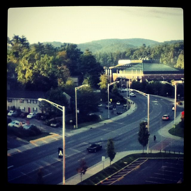 View from my dorm :)