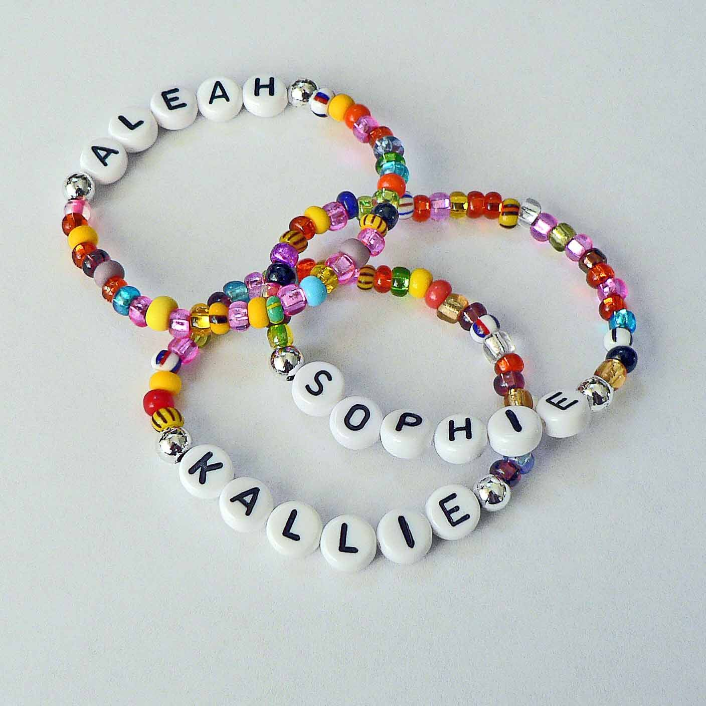 Children's Jewelry Name Bracelet PERSONALIZED Party Favor