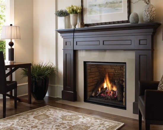 Interesting Design Ideas Of Contemporary Fireplace With Square