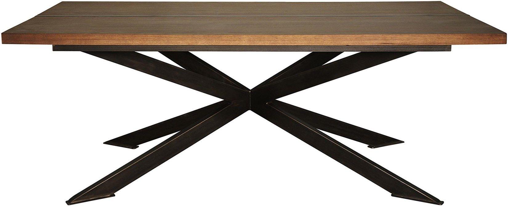 :: NOIR :: GTAB481MT Lazio Dining Table W 84 D 44 H 30 #7Foot