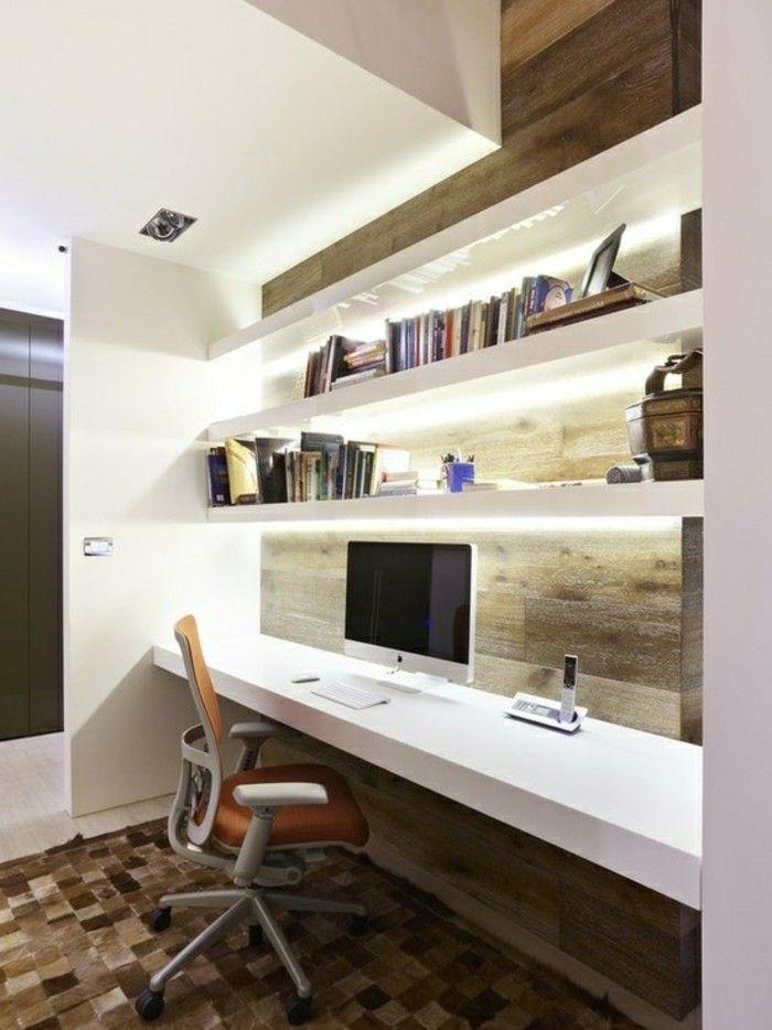 Schreibtisch Computer Aus Holz Und Drehstuhl Modernes Haus Innenarchitektur Haus Innenarchitektur Luxus Moderne Hauser