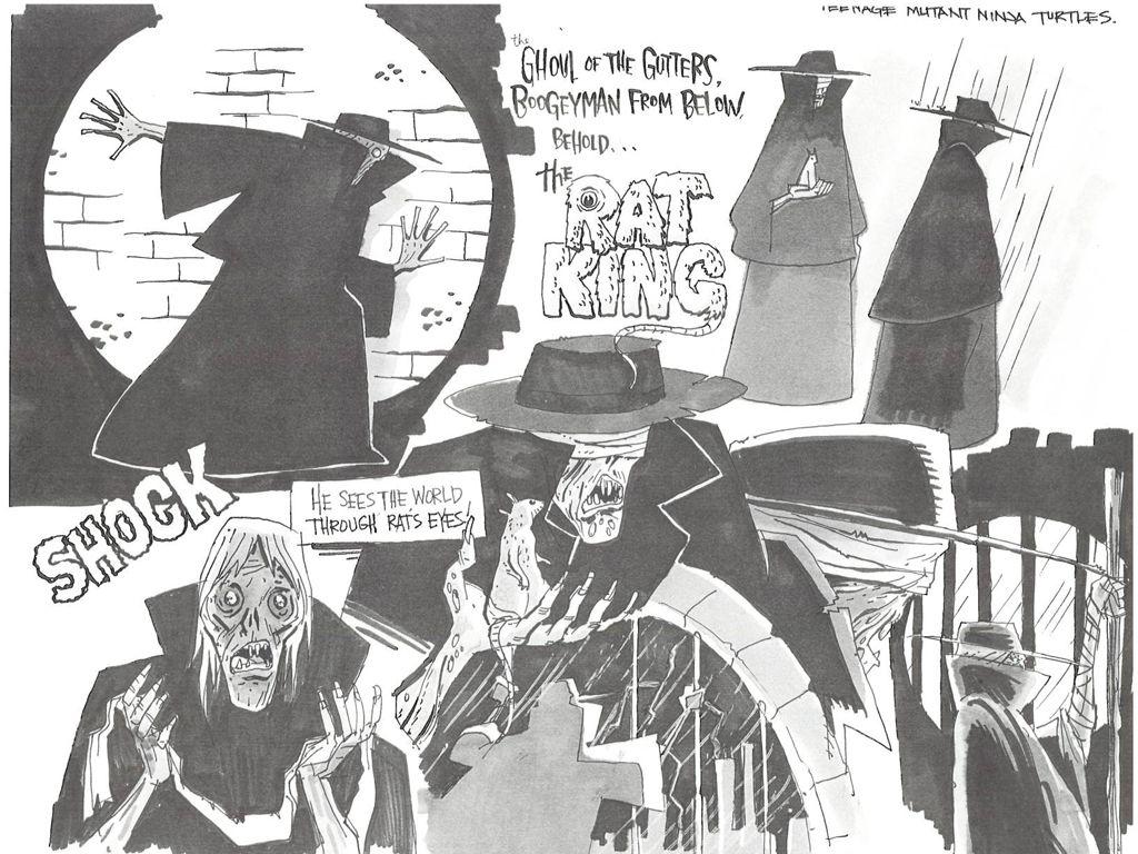 The Rat King Production Art