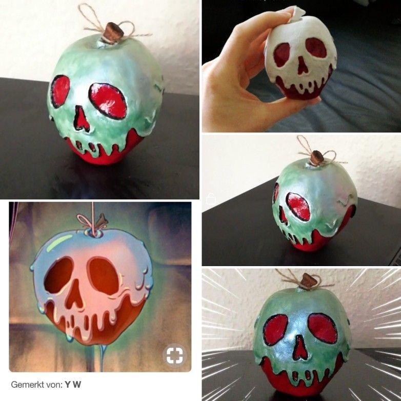 Snow White DIY Poison Apple | Halloween stuff | Disney