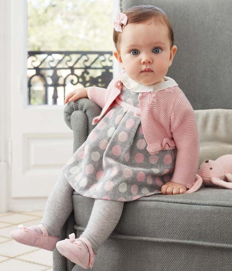 5ba6b94d1 Dots Dress -- Call to order: 615-465-2166 | Baby Love | Ropa de bebe ...