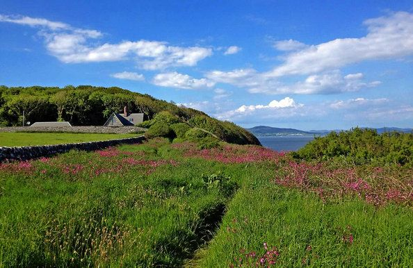 On the literary trail in Scotland #irishsea
