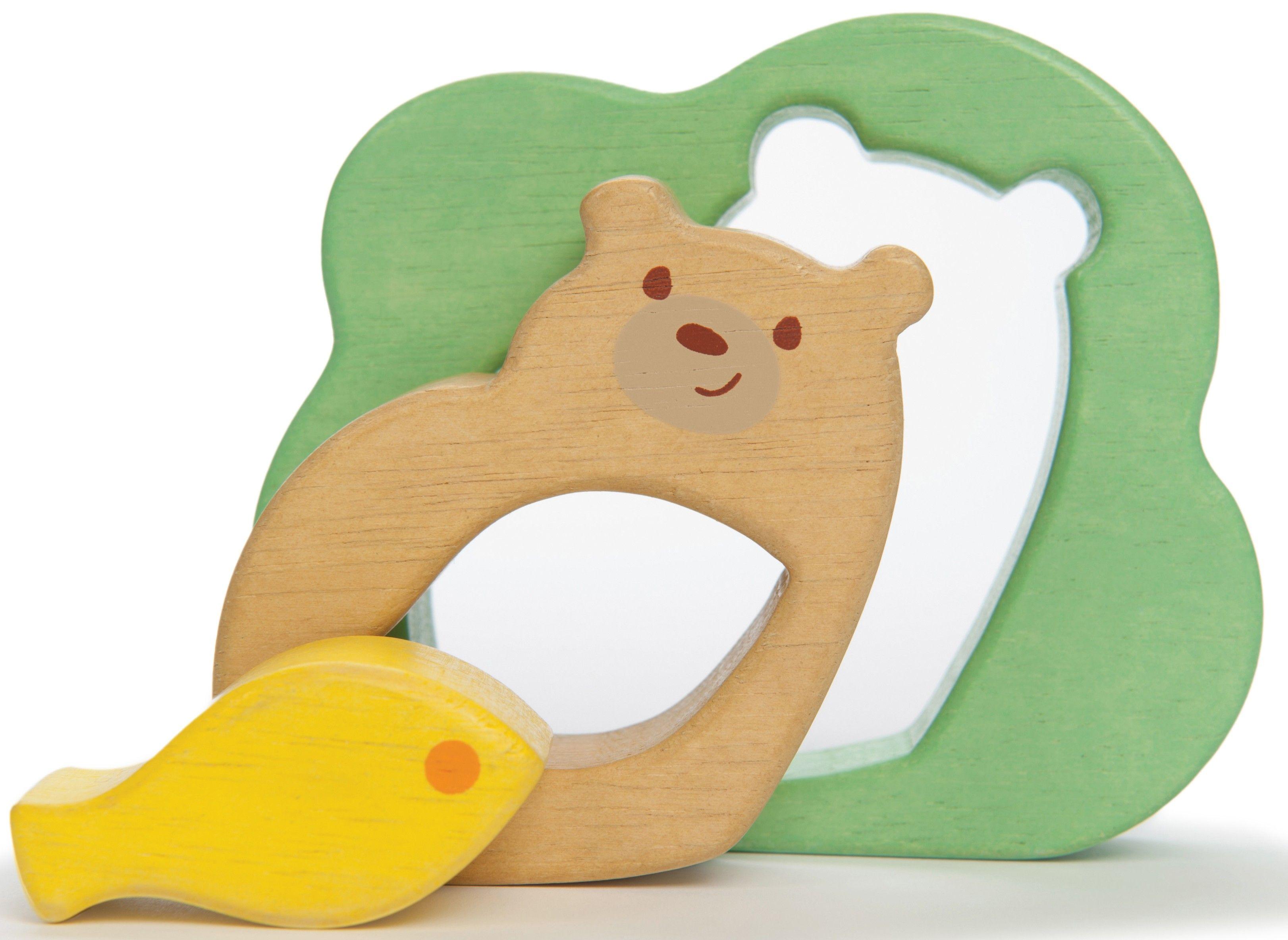 Le Toy Van Petilou Baby Bear 3 Piece Puzzle Wooden Toys