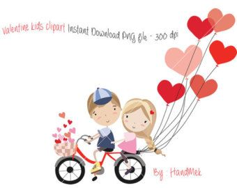 Valentine Kids Clipart Valentine S Clipart Valentine Day Clipart Instant Download Png File 30 Valentines Day Clipart Valentine Clipart Valentines For Kids