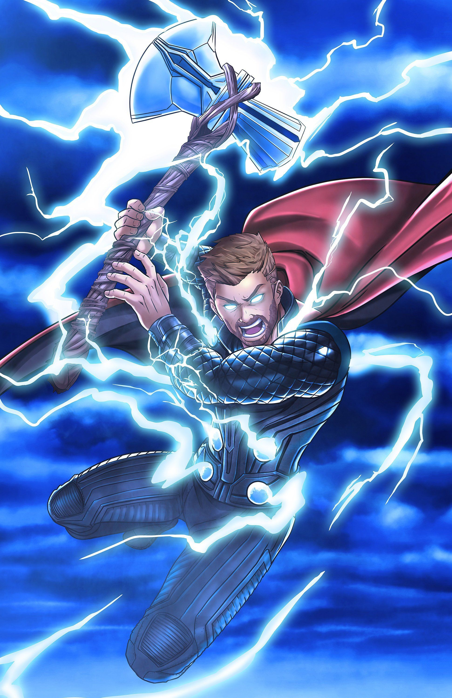 Thor Stormbreaker Etsy In 2020 Avengers Drawings Thor Art Marvel Thor