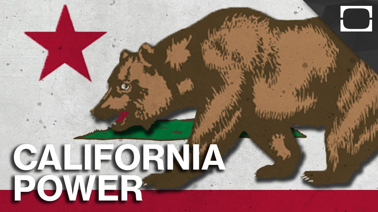 How Powerful Is California? California logo, California