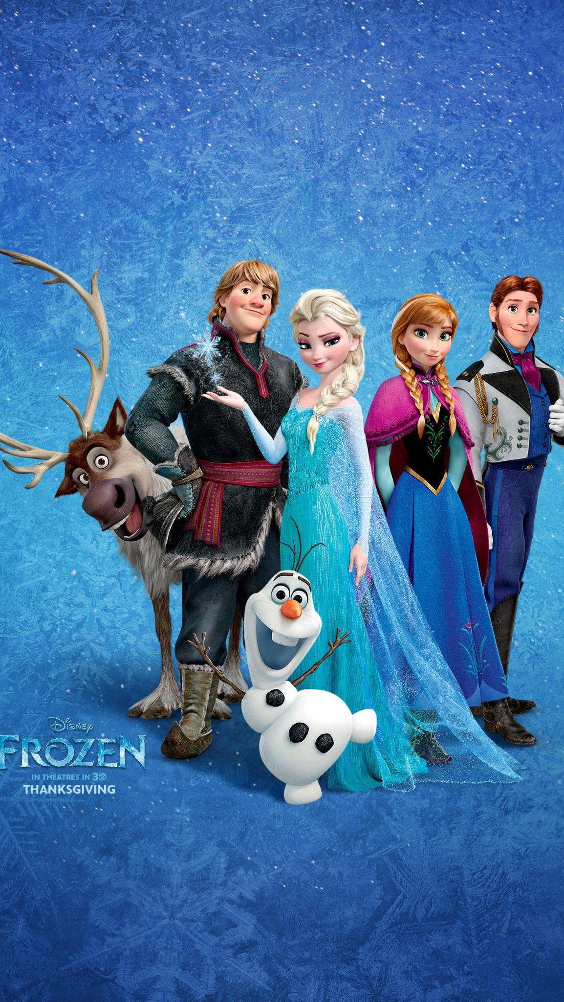 The Frozen Team Cartoon wallpaper, Frozen cartoon