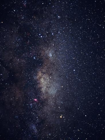 Photographic Print: Center of Milky Way in Sagittarius Poster by Roger Ressmeyer : 24x18in