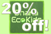 Enjoy 20% off all Spring/Summer Kids Collection by Dhana EcoKids http://www.dhanaecokids.com