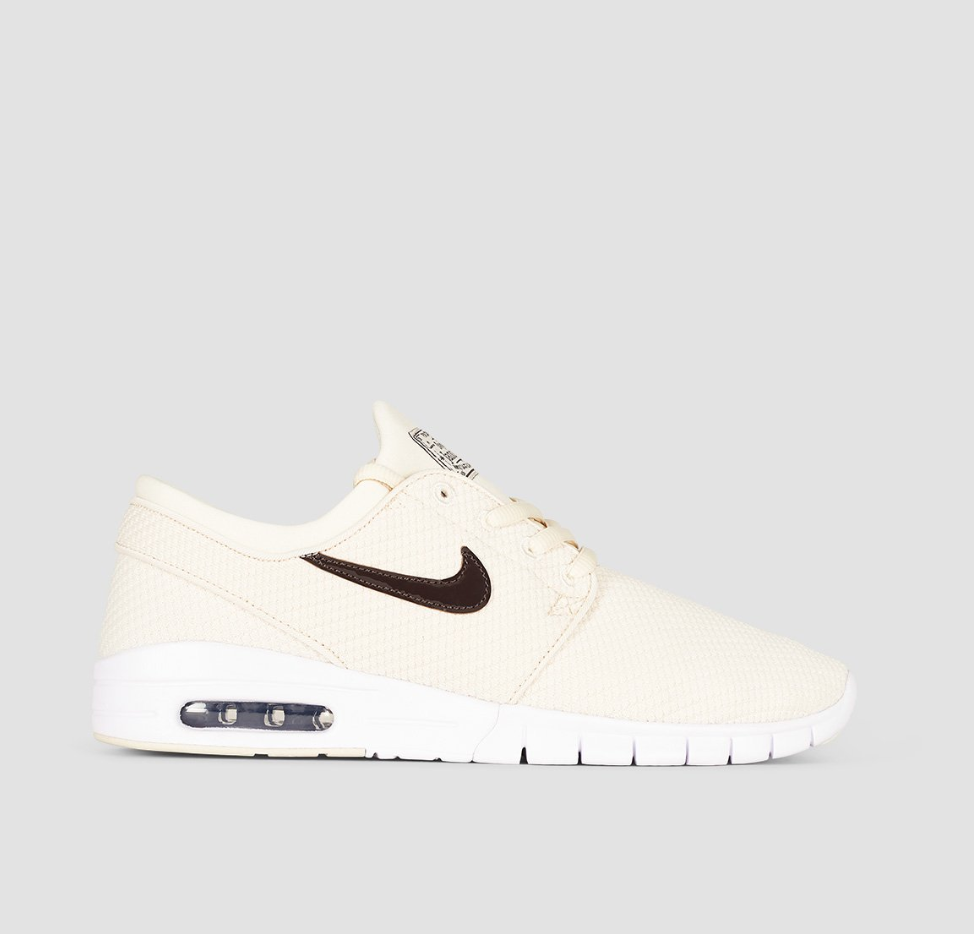 9f2a5ccc4adb Details about Nike SB Stefan Janoski Max Light Cream Velvet Brown ...