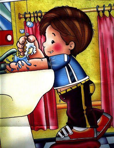 Habitos De Higiene En Educacion Infantil Me Lavo Las Manos