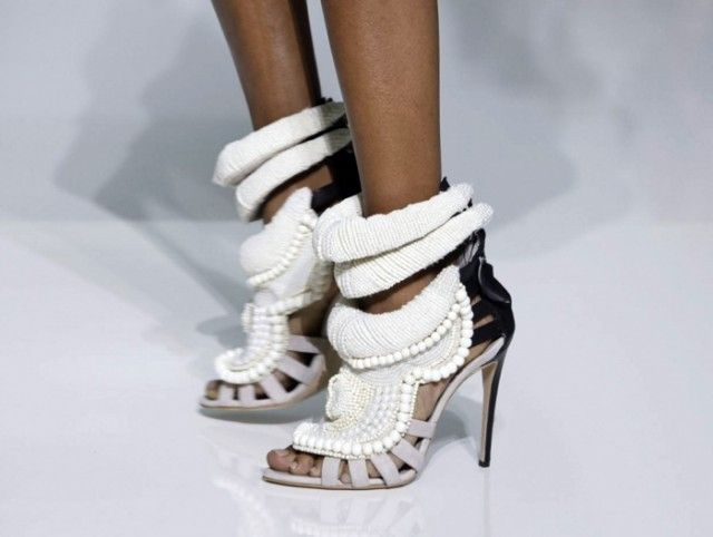 297ab9237 Remember these infamous Kanye West x Giuseppe Zanotti shoes from his debut  runway show  They sold for a cool 6000 dollars!