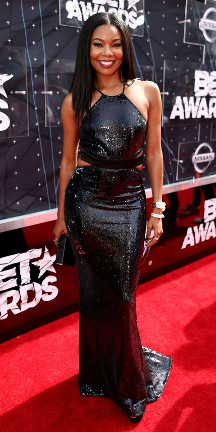 BET Awards 2015 Red Carpet Arrivals - Gabrielle Union from #InStyle