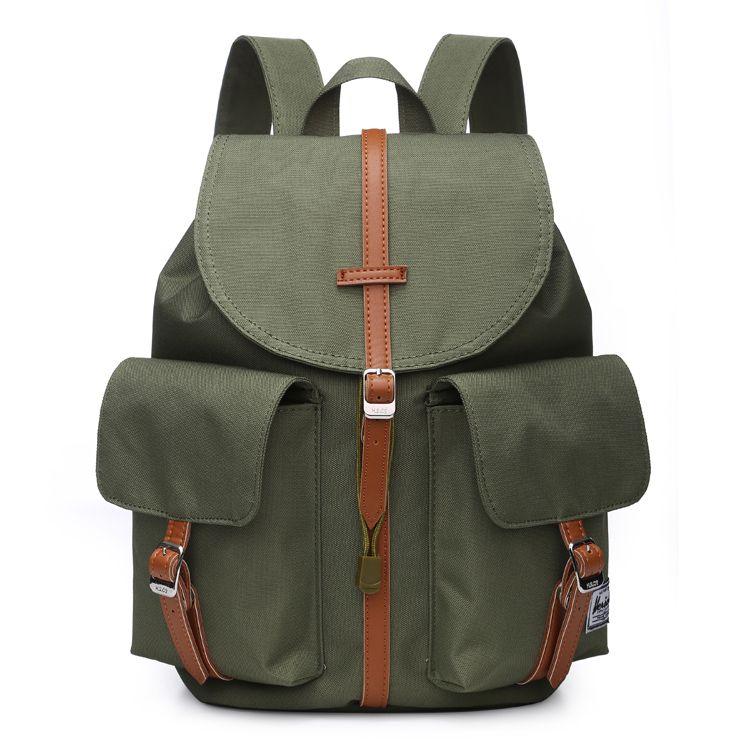 Army Green Herschel Dawson Backpacks  808c99f763d