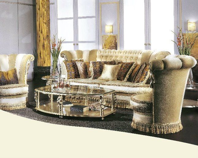 Italian Living Room Furniture | Living Room With Luxury Sofa By VIP Italy  Furniture