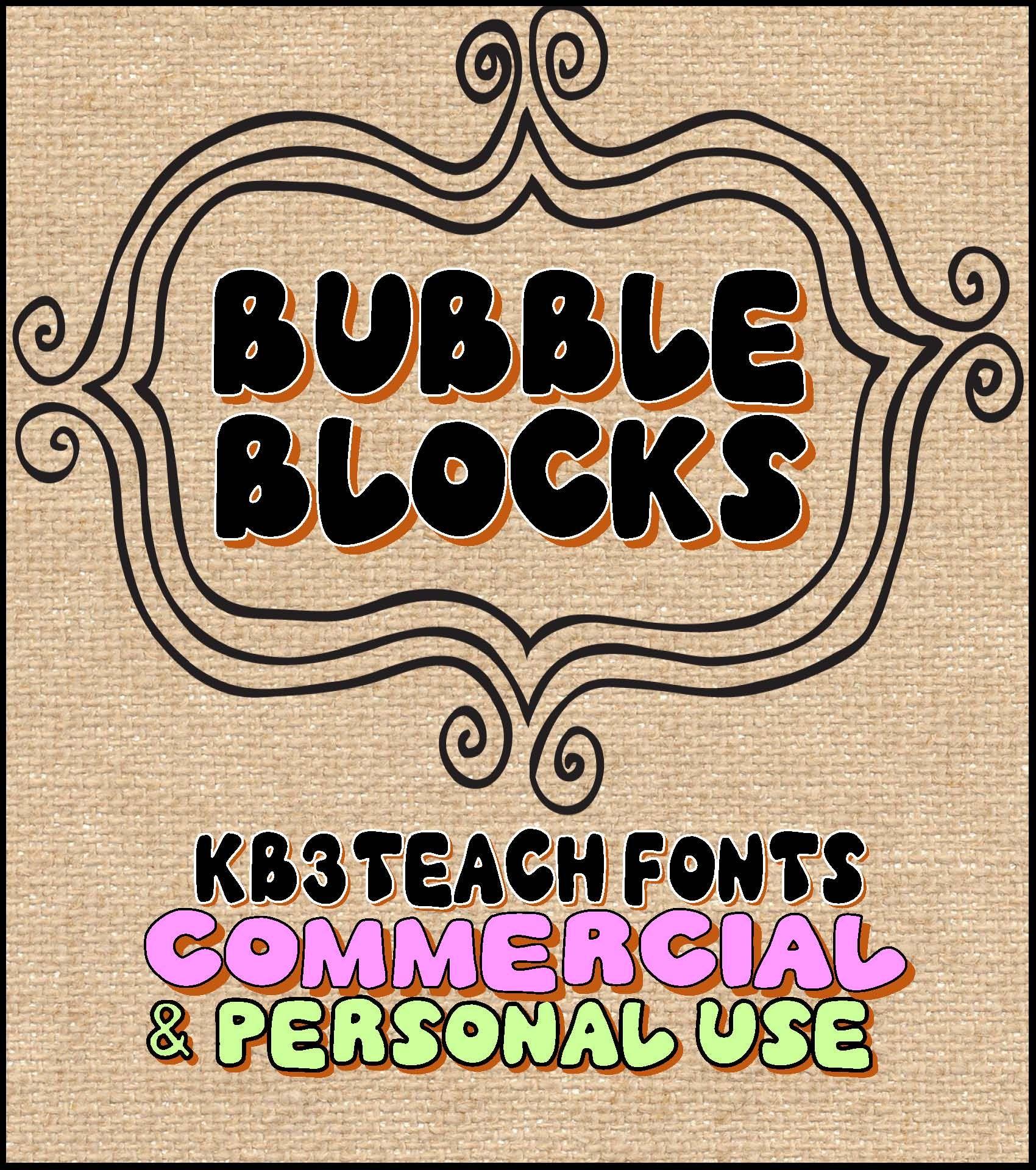 Download FONTS: KB3 BOLD FONTS PACK#1 (6-Font Set) Personal ...