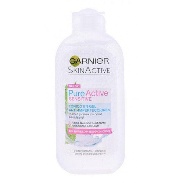 Pure Active Sensitive Tonico En Gel Garnier Tonico Facial