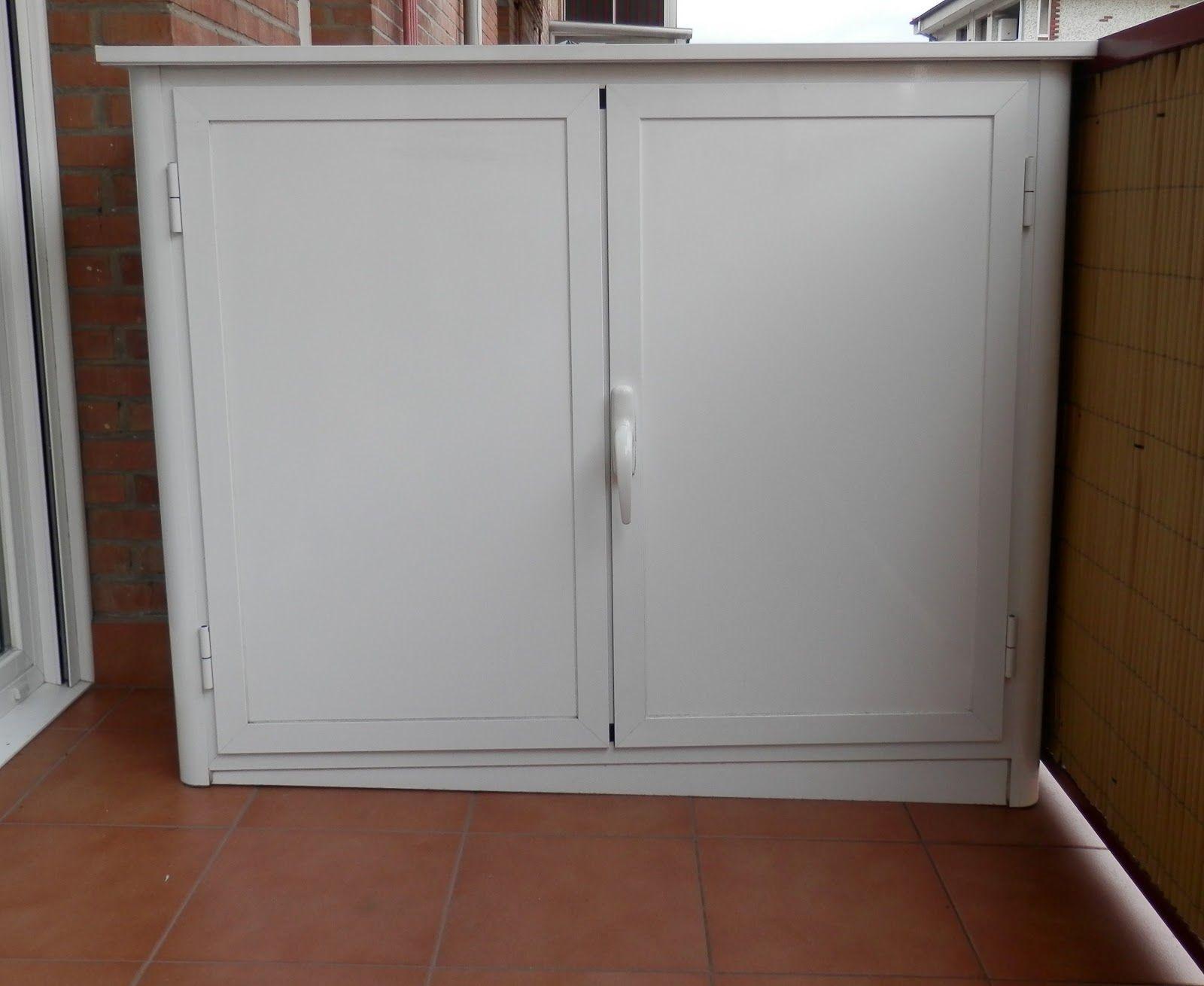 Resultado de imagen de armario aluminio exterior bicis for Armario para balcon exterior