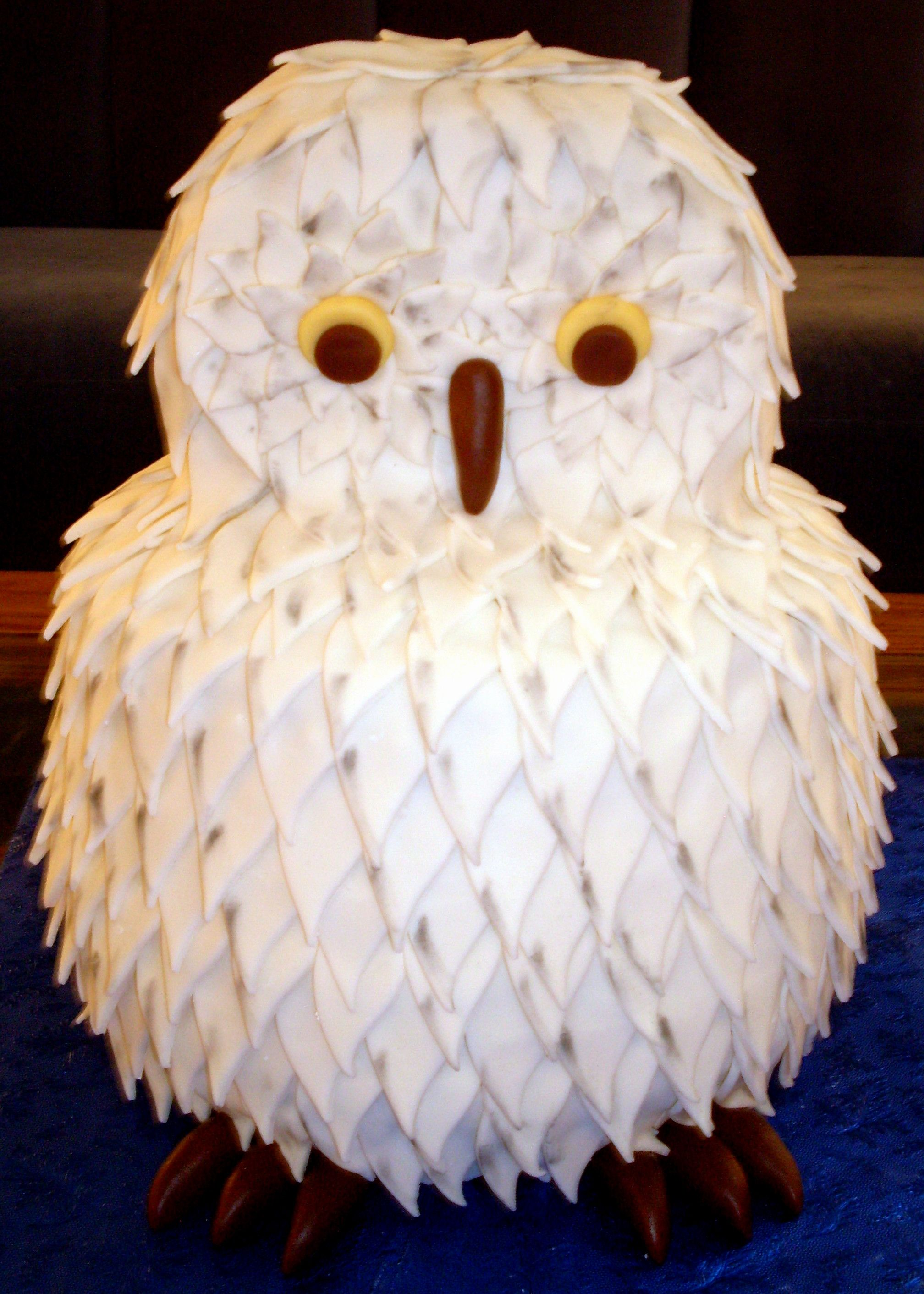 Snowy Owl {Cake} Awesome? | Sadie's 1st Birthday! in 2019 ...