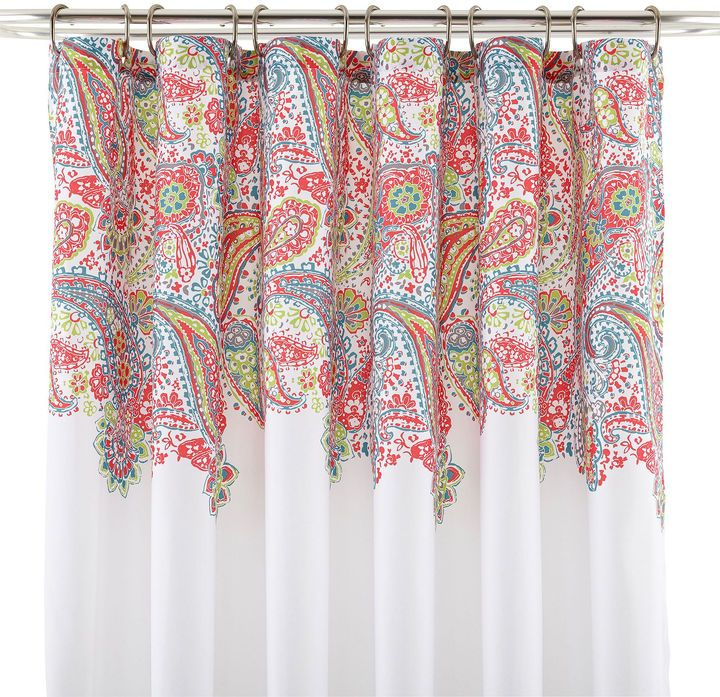 JCP Home Collection JCPenney HomeTM Paisley Shower Curtain