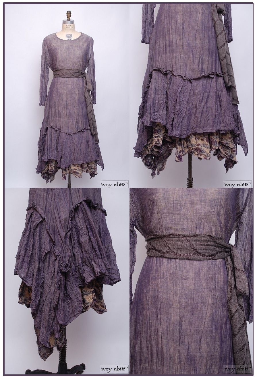 Cotton Voile is a great traveler. Spritz it, wad it up, and hang it to dry. This is the Fairholme Dress in Lavender Cotton Voile by Ivey Abitz.