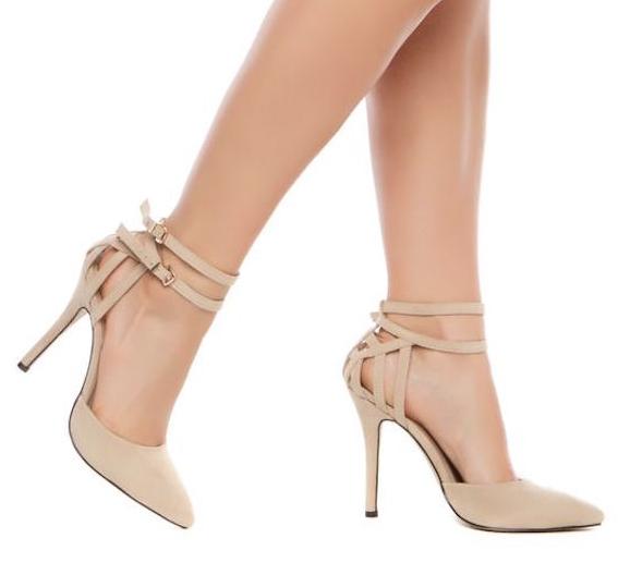 Y CombinarHigh Fácil Zapato BeigeElegante De Heels El vN80ywOPmn