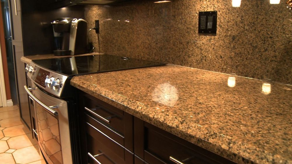 Cool Vinyl Countertop Faux Fake Granite Look Contact Paper Film Roll Gold 10 Ezfauxdecor