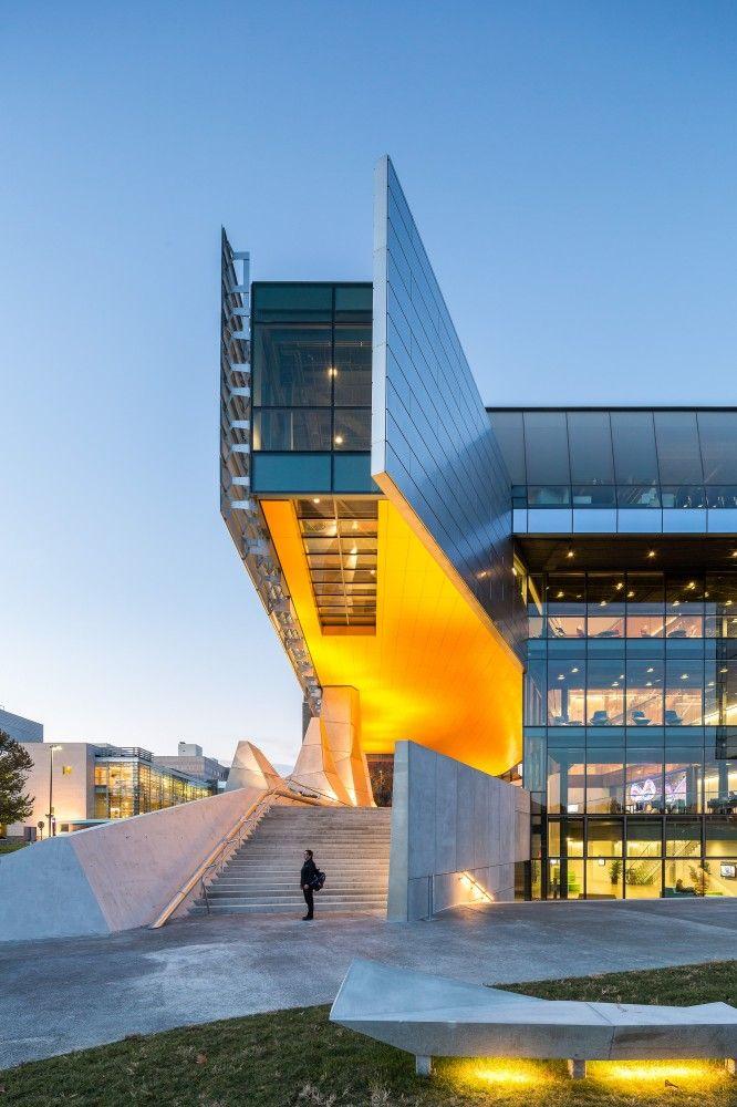 Bill melinda gates hall morphosis architects - Cornell university interior design program ...