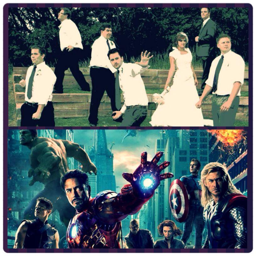 Matrimonio Tema Marvel : Avengers wedding photo pinterest