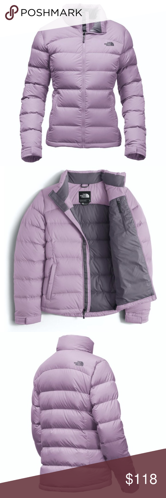 NORTH FACE Nuptse JACKET Puffer Coat Puff 700 Down BRAND NEW!! Women s  Size  Small. Color  Light Purple Grey. Retail   288.00. The North Face  Jackets   ... 03581409a