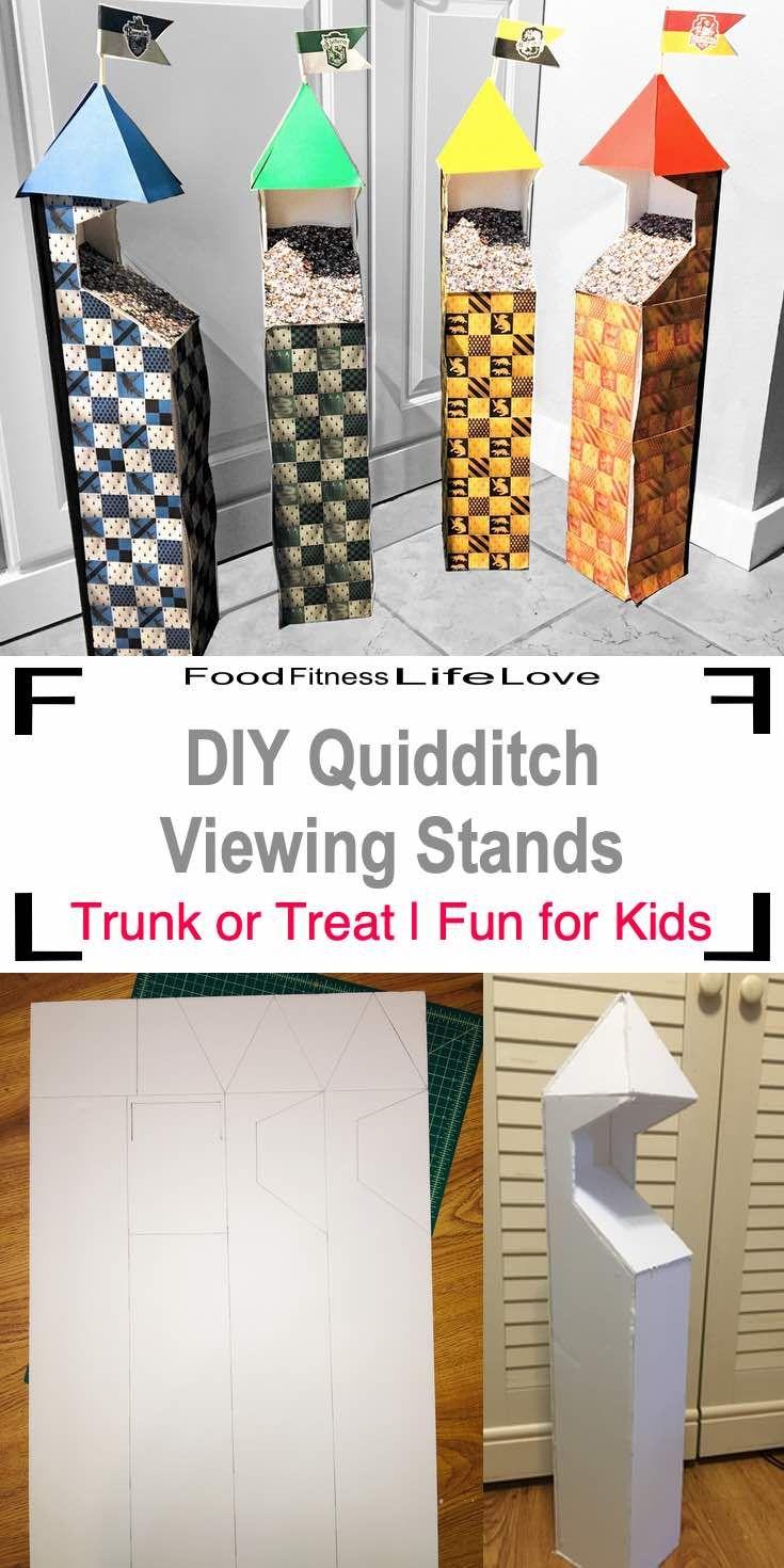 DIY Quidditch Pitch Viewing Stands