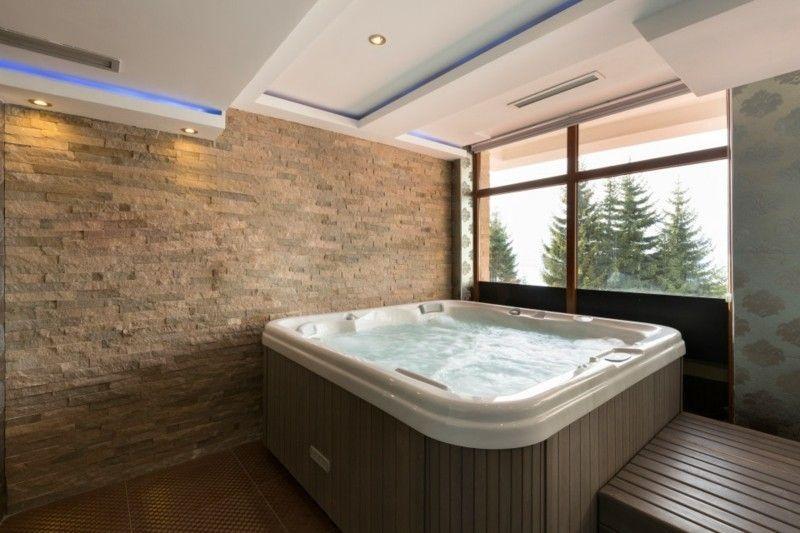 Luxus badezimmer mit whirlpool  Whirlpool badewanne - innenpool- luxus badezimmer | Exterieur ...