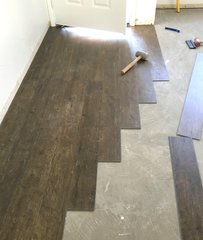 Vinyl Plank Flooring Prep Installation Installing Vinyl Plank
