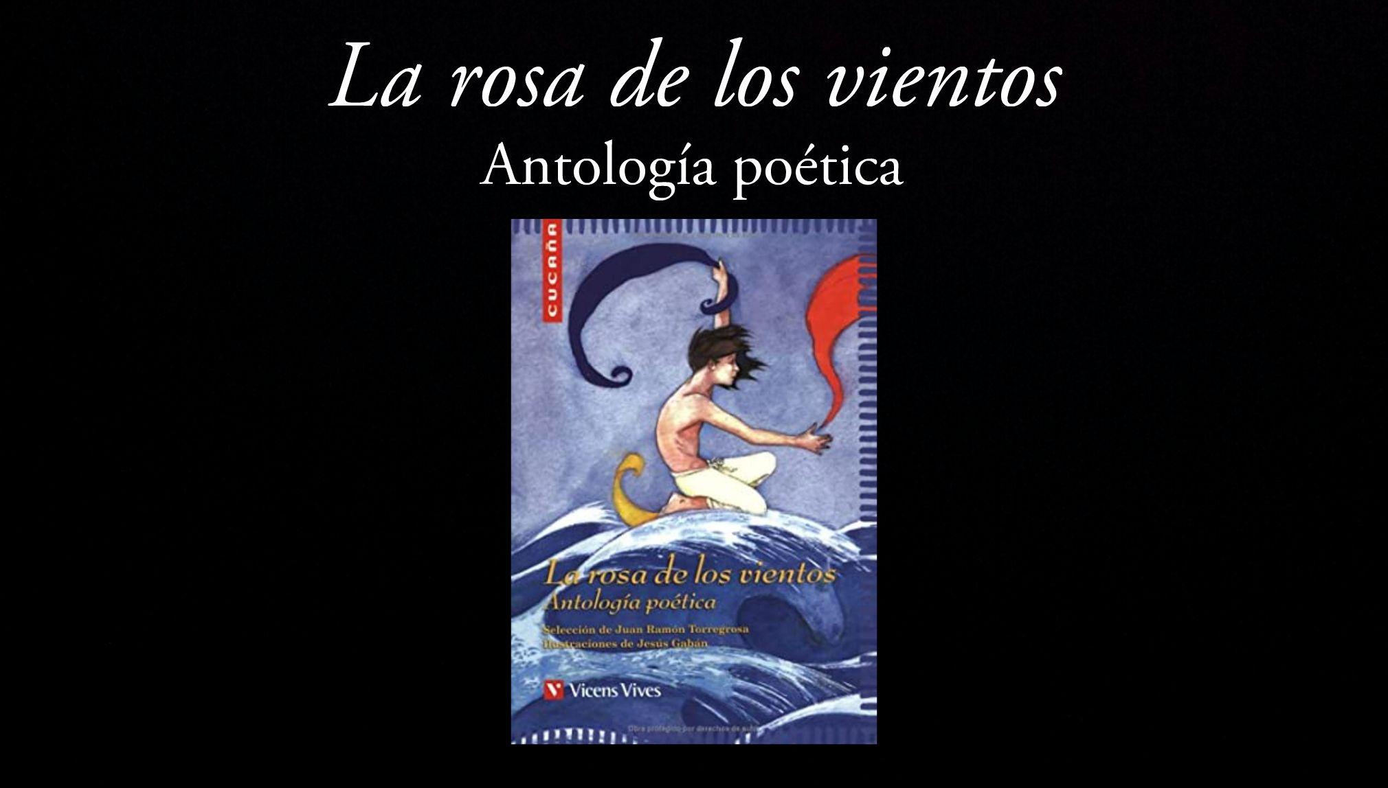 La rosa de los vientos. Antología poética, de Juan Ramón