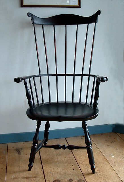 High Back Windsor Arm Chairs | Item 1049 Lancaster County Chair This Windsor  Arm Chair Originally